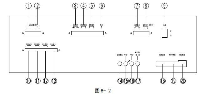 海湾mp3广播分配盘_安装接线图