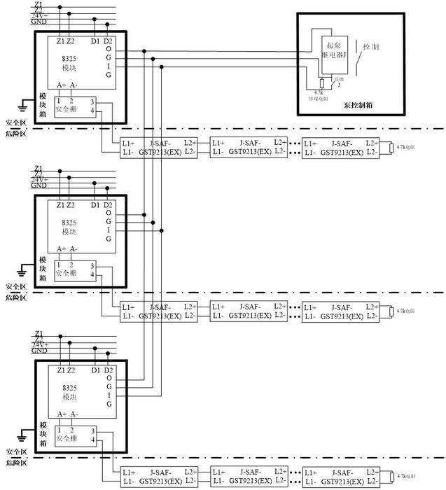 海湾模块箱gst-ld-8331_应用|安装|接线图