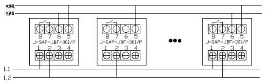北大青鸟手动火灾报警按钮j-sap-jbf-301/p_安装|接线