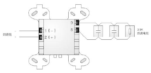 安舍988614智能监视模块接线图